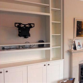 Other Rooms - Fitted Media unit