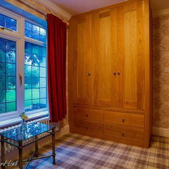 Other Rooms - Fitted Oak robe