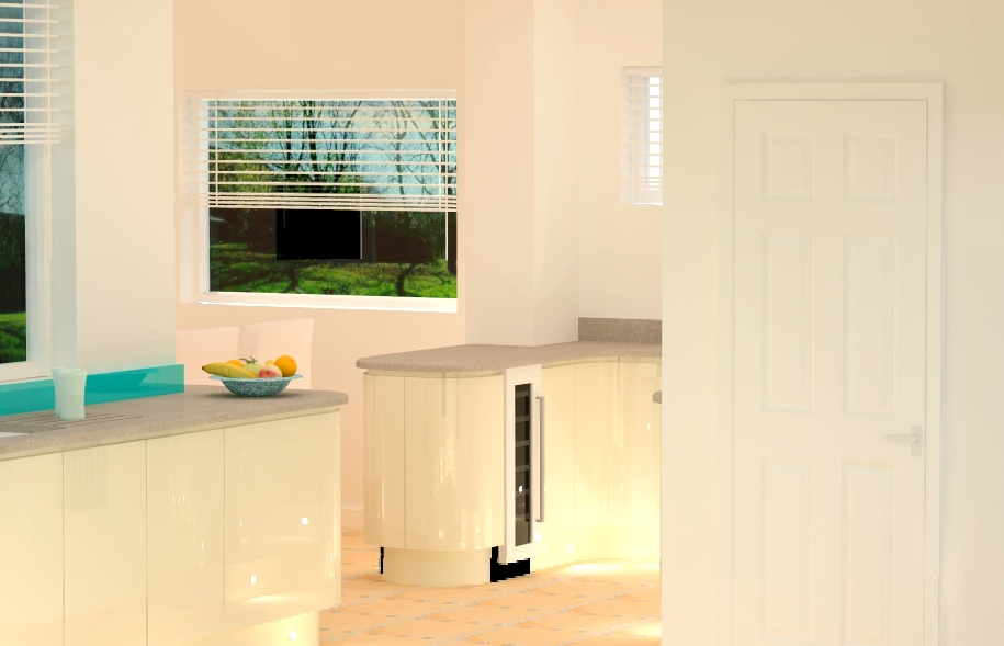 Kitchen design from Fine Finish Furniture, Nottingham.
