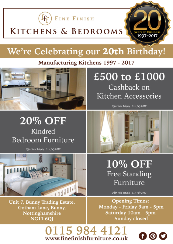 Great Offers to Celebrate 20 Years!