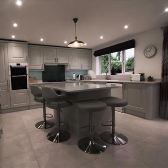 Bespoke Kitchen, Fine Finish Kitchens, Nottinghamshire, Derbyshire, Leicestershire