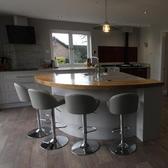 Exclusive, bespoke 1997 Kitchen, Free Design Service, Fine Finish Furniture, Nottinghamshire, Derbyshire, Leicestershire