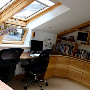 Olive Ash Home Office