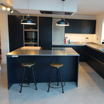 Exclusive, Stanton Unit Fitted Kitchen, Free Design Service, Fine Finish Furniture, Nottinghamshire, Derbyshire, Leicestershire