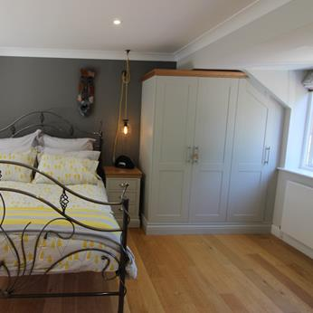 Kindred fitted bedroom installed by Fine Finish Furniture - Nottingham, Derbyshire and Leicestershire
