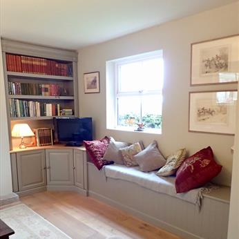 Studies - Fitted Bookcase and Window Seat